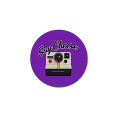 Say Cheese Golf Ball Marker (4 pack)