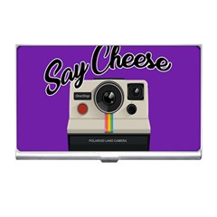 Say Cheese Business Card Holders