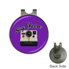 Say Cheese Hat Clips with Golf Markers