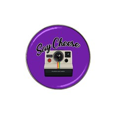 Say Cheese Hat Clip Ball Marker