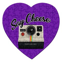Say Cheese Jigsaw Puzzle (Heart)