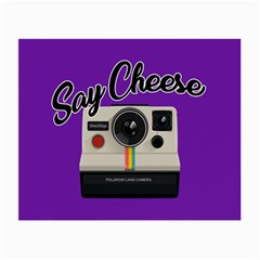 Say Cheese Small Glasses Cloth