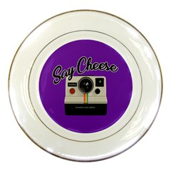 Say Cheese Porcelain Plates