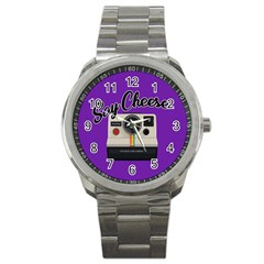 Say Cheese Sport Metal Watch