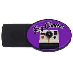 Say Cheese Usb Flash Drive Oval (4 Gb)