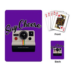 Say Cheese Playing Card