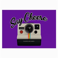 Say Cheese Large Glasses Cloth (2-Side)