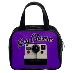 Say Cheese Classic Handbags (2 Sides)
