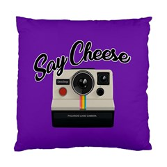 Say Cheese Standard Cushion Case (Two Sides)