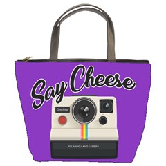 Say Cheese Bucket Bags