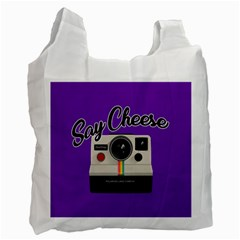 Say Cheese Recycle Bag (One Side)