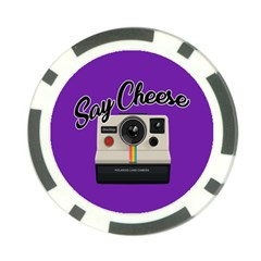 Say Cheese Poker Chip Card Guard (10 pack)