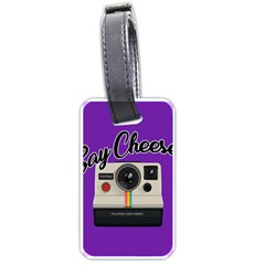 Say Cheese Luggage Tags (Two Sides)