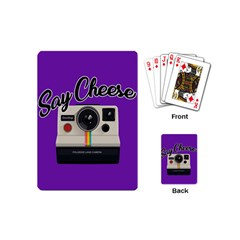 Say Cheese Playing Cards (Mini)