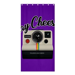 Say Cheese Shower Curtain 36  x 72  (Stall)