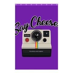 Say Cheese Shower Curtain 48  x 72  (Small)