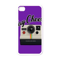 Say Cheese Apple Iphone 4 Case (white) by Valentinaart