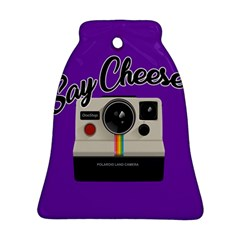 Say Cheese Bell Ornament (Two Sides)