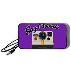 Say Cheese Portable Speaker (Black)