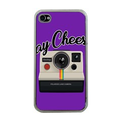 Say Cheese Apple iPhone 4 Case (Clear)