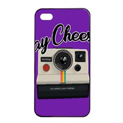 Say Cheese Apple iPhone 4/4s Seamless Case (Black)