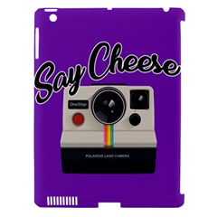 Say Cheese Apple iPad 3/4 Hardshell Case (Compatible with Smart Cover)
