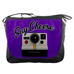 Say Cheese Messenger Bags