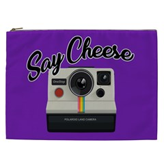 Say Cheese Cosmetic Bag (XXL)