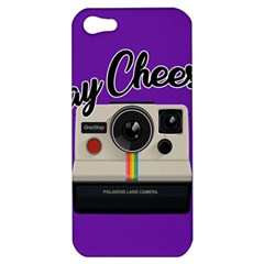 Say Cheese Apple iPhone 5 Hardshell Case