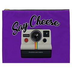 Say Cheese Cosmetic Bag (XXXL)