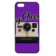 Say Cheese Apple iPhone 5 Seamless Case (Black)