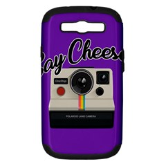 Say Cheese Samsung Galaxy S III Hardshell Case (PC+Silicone)