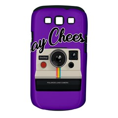 Say Cheese Samsung Galaxy S III Classic Hardshell Case (PC+Silicone)
