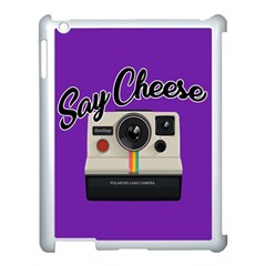 Say Cheese Apple iPad 3/4 Case (White)