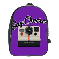 Say Cheese School Bags (XL)