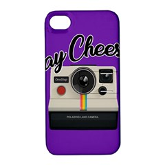 Say Cheese Apple iPhone 4/4S Hardshell Case with Stand