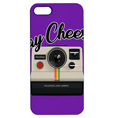 Say Cheese Apple iPhone 5 Hardshell Case with Stand