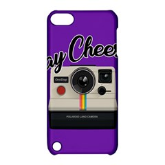 Say Cheese Apple iPod Touch 5 Hardshell Case with Stand