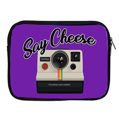 Say Cheese Apple iPad 2/3/4 Zipper Cases