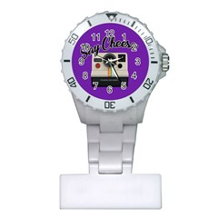 Say Cheese Plastic Nurses Watch
