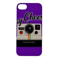 Say Cheese Apple iPhone 5S/ SE Hardshell Case