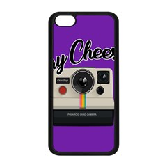 Say Cheese Apple iPhone 5C Seamless Case (Black)