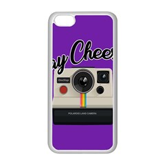 Say Cheese Apple Iphone 5c Seamless Case (white) by Valentinaart