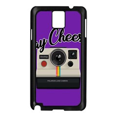 Say Cheese Samsung Galaxy Note 3 N9005 Case (Black)
