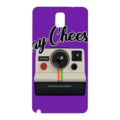Say Cheese Samsung Galaxy Note 3 N9005 Hardshell Back Case