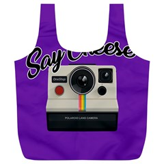 Say Cheese Full Print Recycle Bags (L)