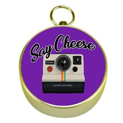 Say Cheese Gold Compasses