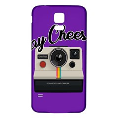 Say Cheese Samsung Galaxy S5 Back Case (White)