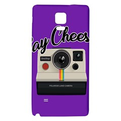 Say Cheese Galaxy Note 4 Back Case