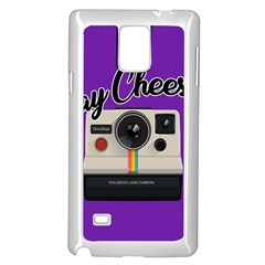 Say Cheese Samsung Galaxy Note 4 Case (White)